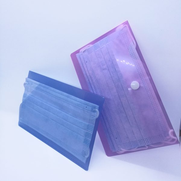 plastic mask wallet