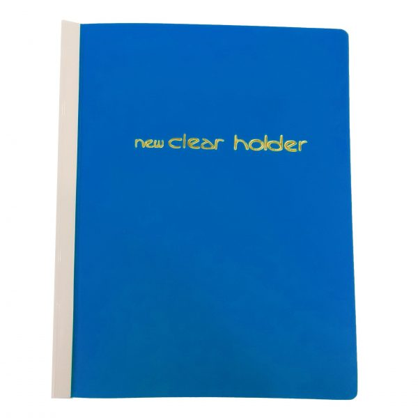 plastic refillable clear folder