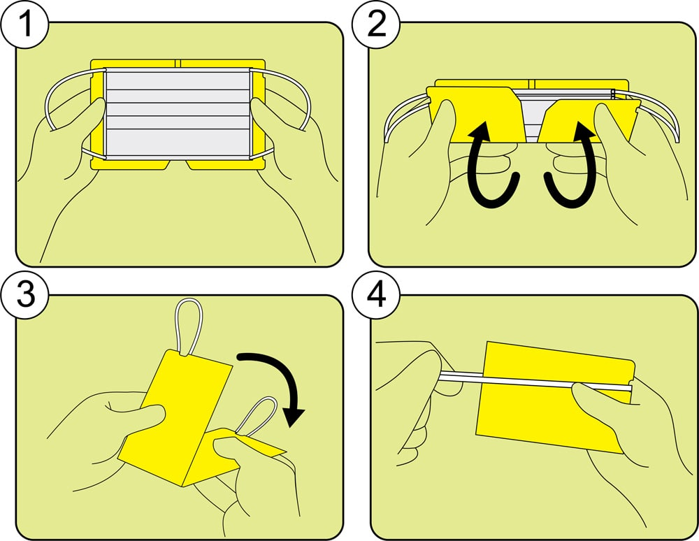 plasticmask holder instructions